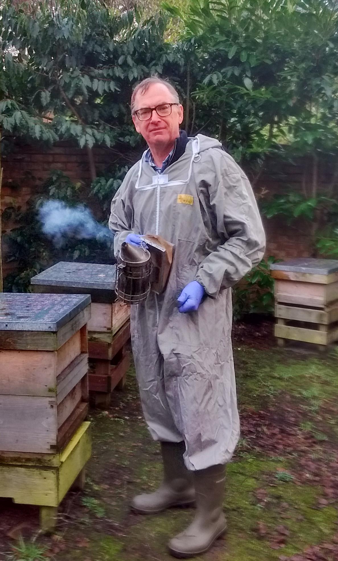 Beekeeper Charles Millar
