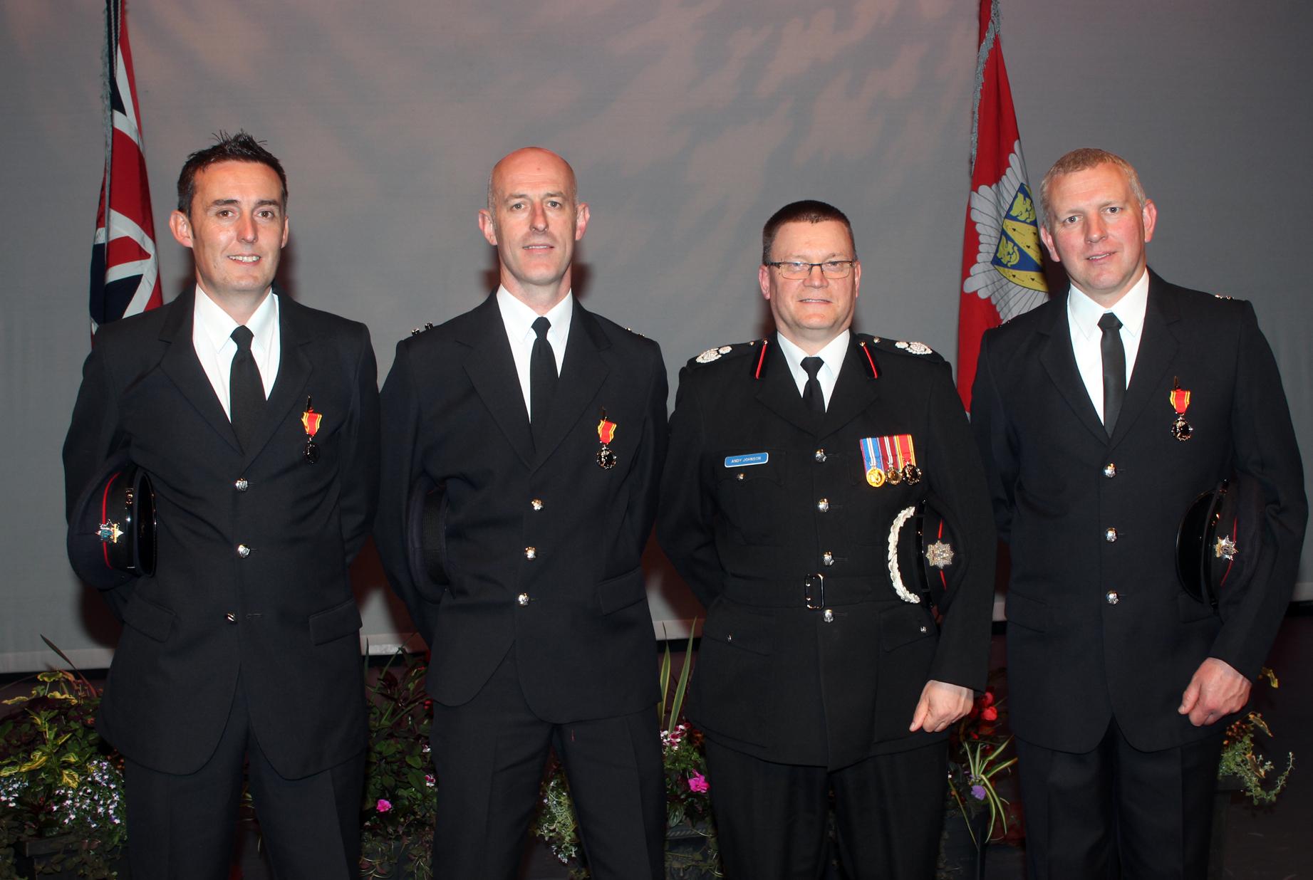 Telford Long Service awards
