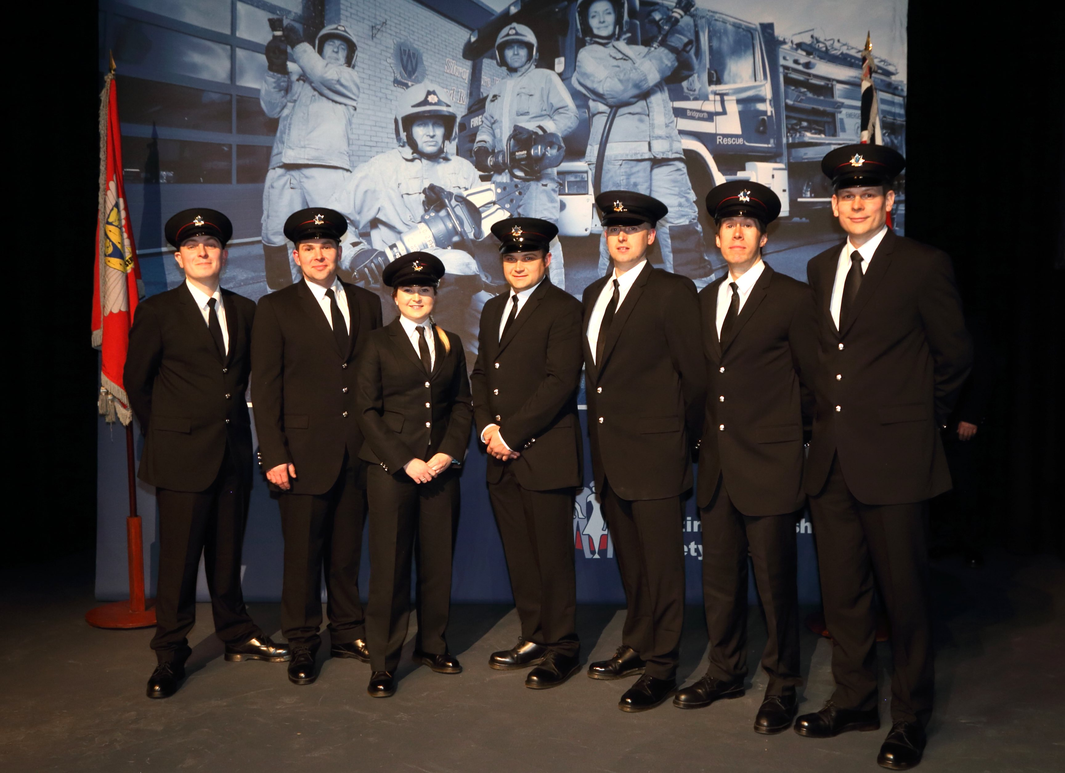Firefighter Awards And Images Shropshire Fire And Rescue
