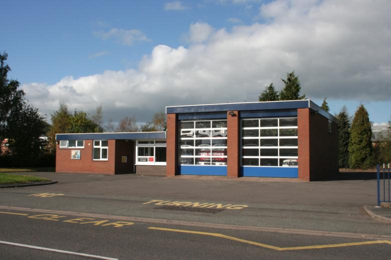 Market Drayton Fire Station