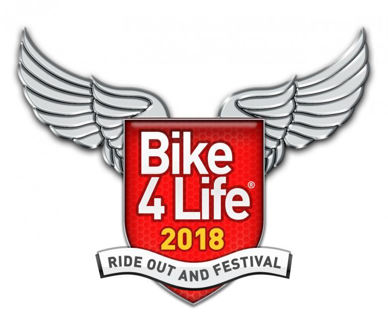 Shropshire firefighters support the Bike4Life Campaign
