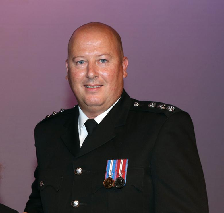 Group Commander Rob Corfield