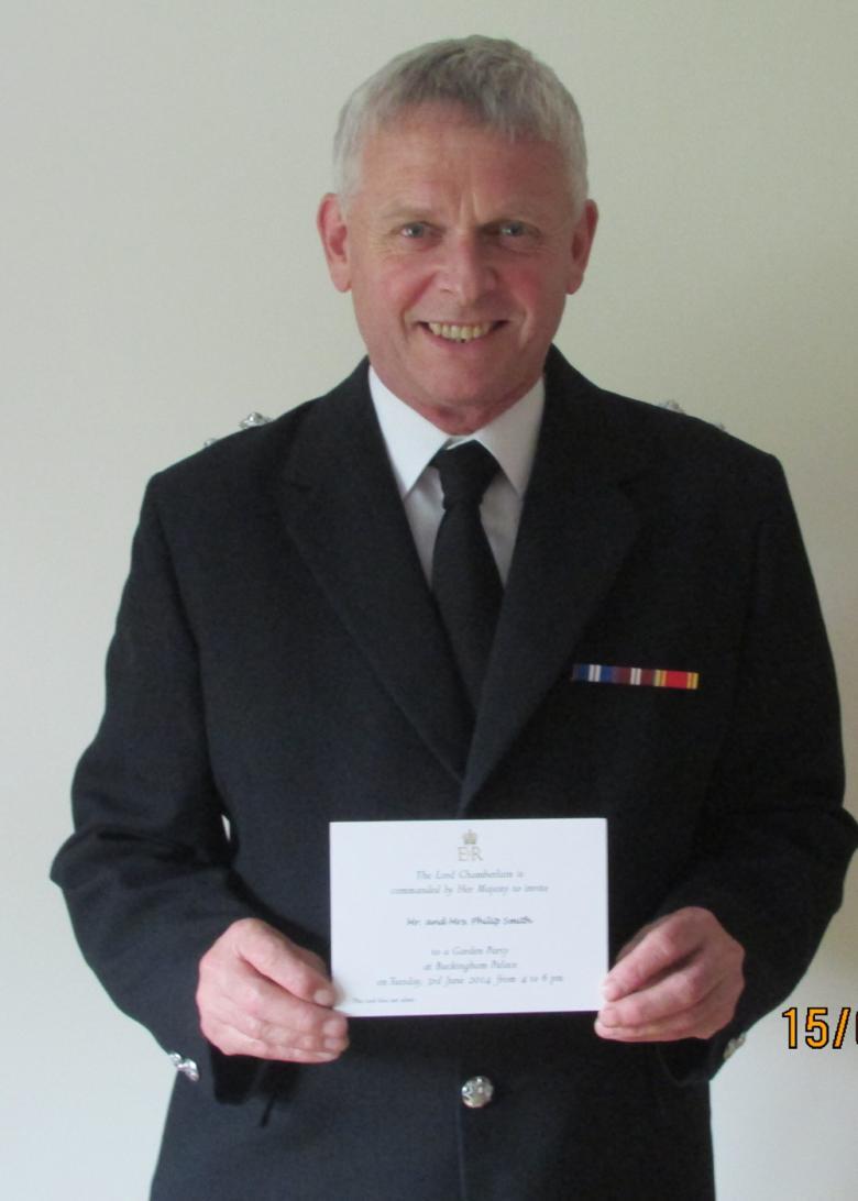 Wem's Phil Jones holds royal invite